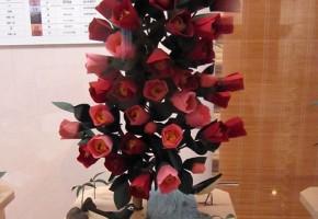 椿の台 鶺鴒二羽・根笹 岩清水八幡宮蔵