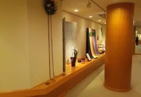 吉岡幸雄「花と日本の彩」展@神戸
